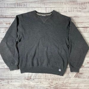 Russell Athletic Vintage Charcoal Crew Neck